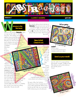 Abstraction Newsletter