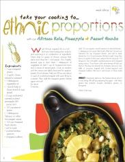Food Magazine Article